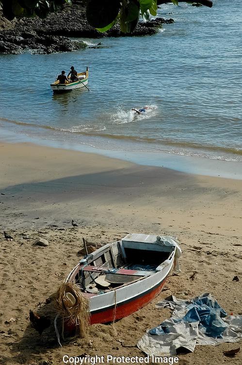 End of the Day Rio Vermelho beach.
