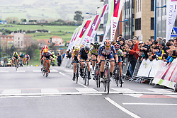 Megan Guarnier wins the final stage of Emakumeen Bira - Emakumeen Bira 2016 Stage 4 - A 76 km road stage starting and finishing in Portugalete, Spain on 17th April 2016.
