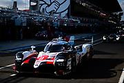 June 10-16, 2019: 24 hours of Le Mans. 8 TOYOTA GAZOO RACING, TOYOTA TS050 - HYBRID, Sébastien BUEMI, Kazuki NAKAJIMA, Fernando ALONSO , morning warmup
