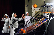 St. Augustine Indian Mission nuns play basketball
