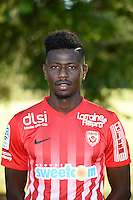 Karim Coulibaly of Nancy poses for a portrait during the Nancy squad photo call for the 2016-2017 Ligue 1 season on August 25, 2016 in Nancy, France<br /> Photo : Fred Marvaux / Icon Sport