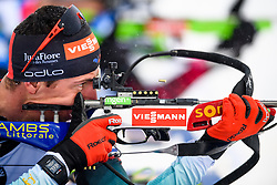 March 16, 2019 - –Stersund, Sweden - 190316 Quentin Fillon Maillet of France competes in the Men's 4x7,5 km Relay during the IBU World Championships Biathlon on March 16, 2019 in Östersund..Photo: Petter Arvidson / BILDBYRÃ…N / kod PA / 92269 (Credit Image: © Petter Arvidson/Bildbyran via ZUMA Press)