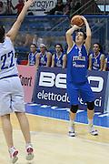 Pomezia, 17/05/2015<br /> Basket, Nazionale italiana Femminile <br /> Amichevole <br /> Italia - Gran Bretagna<br /> Nella foto: Ilaria Zanoni<br /> Foto Ciamillo