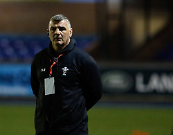Head Coach Rowland Phillips of Wales Women<br /> <br /> Photographer Simon King/Replay Images<br /> <br /> Friendly - Wales Women v Hong Kong Women - Friday  16th November 2018 - Cardiff Arms Park - Cardiff<br /> <br /> World Copyright © Replay Images . All rights reserved. info@replayimages.co.uk - http://replayimages.co.uk