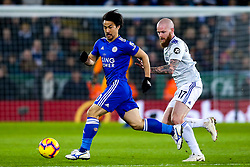 Shinji Okazaki of Leicester City takes on Aron Gunnarsson of Cardiff City - Mandatory by-line: Robbie Stephenson/JMP - 29/12/2018 - FOOTBALL - King Power Stadium - Leicester, England - Leicester City v Cardiff City - Premier League