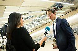 Natasa Gavranic and Peter Prevc at Slovenian Sports personality of the year 2014 annual awards presented on the base of Slovenian sports reporters, on December 9, 2014 in Cankarjev dom, Ljubljana, Slovenia. Photo by Vid Ponikvar / Sportida