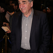Jim Carter attends 'Who's Afraid of Virginia Woolf' play press night on 9th Mrach 2017 at the Harold Pinter Theatre, London,UK. by See Li