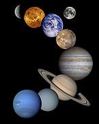 Solar System, Montage