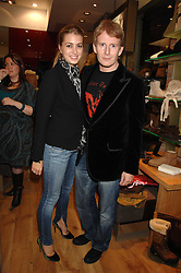 PATRICK KIELTY and    at the official launch of Kate Kuba & UGG Australia store, 22 Duke of York Square, London SW3 on 10th October 2007.<br /><br />NON EXCLUSIVE - WORLD RIGHTS
