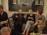 GERALD MALANGA, Supper for Gerard Malanga given by Jean Wainwright.  Chiswick, London. 17 May 2016