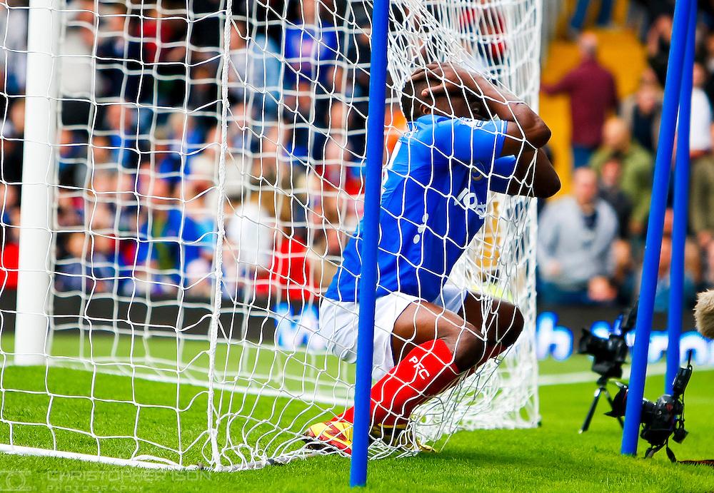 Portsmouth own goal, Fratton Park.