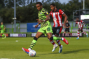 Forest Green Rovers Shawn McCoulsky(21)  during the EFL Trophy match between Forest Green Rovers and U21 Southampton at the New Lawn, Forest Green, United Kingdom on 3 September 2019.