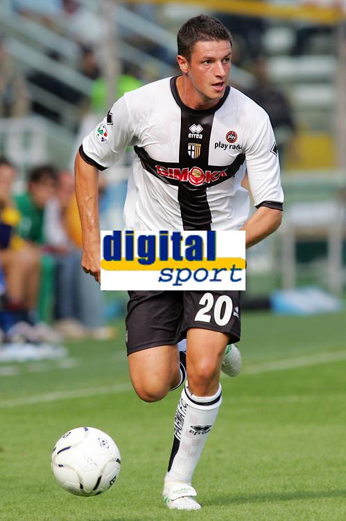 Parma 24/09/2006<br /> Campionato Italiano Serie A 2006/07<br /> Parma-Roma 0-4<br /> Igor Budan Parma<br /> Foto Luca Pagliaricci Inside<br /> www.insidefoto.com