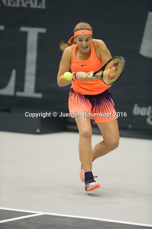 JELENA OSTAPENKO (LAT)<br /> <br /> Tennis - Ladies Linz 2016 - WTA -  TipsArena  - Linz - Oberoesterreich - Oesterreich - 11 October 2016. <br /> &copy; Juergen Hasenkopf