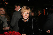 Anne Robinson, A A Gill party to celebrate the  publication of Table Talk, a collection of his reviews. Hosted by Marco Pierre White at <br />