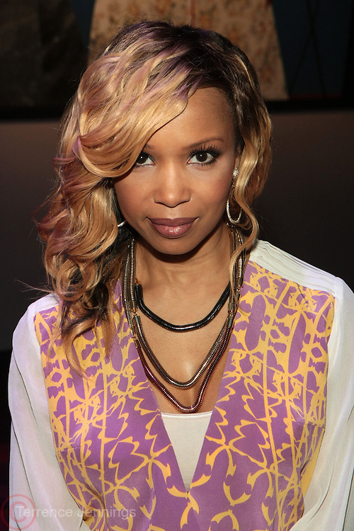 6 September 2013- New York, NY: Actress Elise Neal attends Harlem Fashion Row 2013 Spring Presentation held at Jazz at Lincoln Center on September 6, 2013 in New York City. ©Terrence Jennings