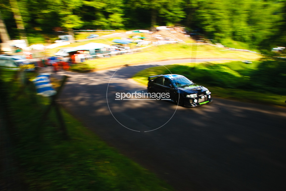 Car number 37 (driven by Donald McCaskill) at Shelsley Hill climb 6/6/10