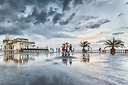 After the pouring rain in Burgas