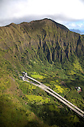H-3 Freeway, Koolau Mountains, Windward Oahu, Hawaii