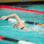 15 October 2015 - The San Diego State Aztecs Women's Swim & Dive Team took on Oregon State and Vanderbilt at the Aztec Aquaplex. 200 Yard Freestyle Heat 2 Lane 4