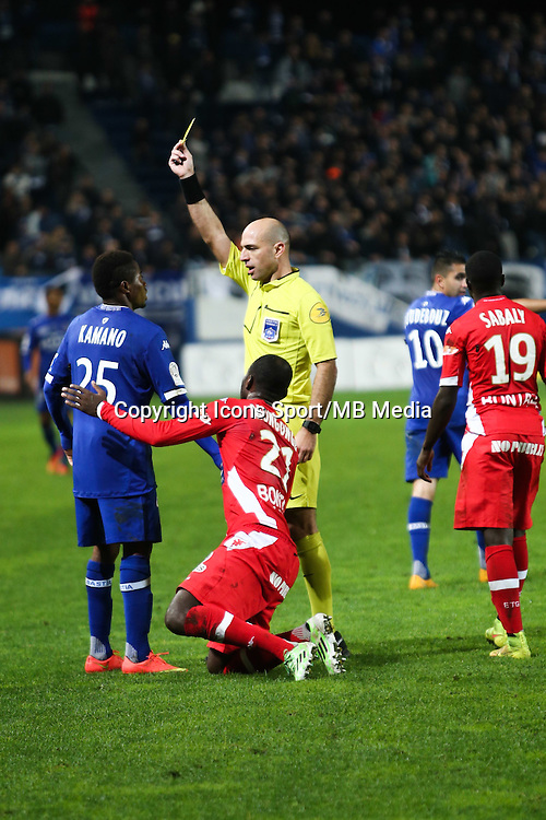 Bartolomeu VARELA - 03.12.2014 - Bastia / Evian Thonon - 16eme journee de Ligue 1 <br />
