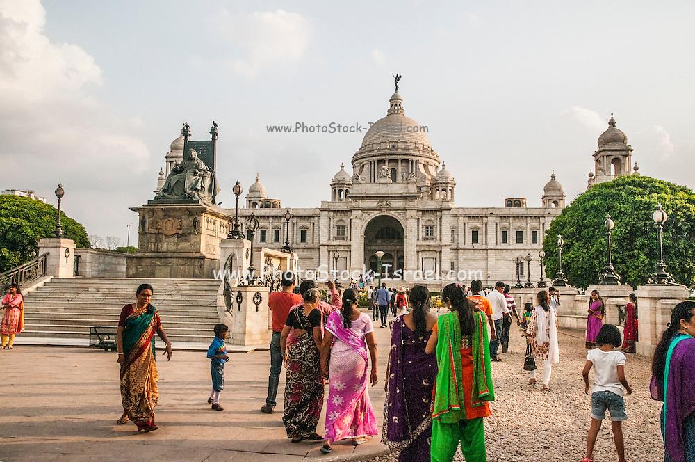 Queen Victoria Memorial museum Calcutta India