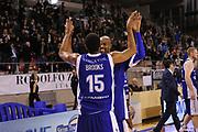 DESCRIZIONE : Ancona Lega A 2012-13 Sutor Montegranaro Chebolletta  Cantu<br /> GIOCATORE : Jeff Brooks Alex Tyus<br /> CATEGORIA : esultanza<br /> SQUADRA : Chebolletta Cantu<br /> EVENTO : Campionato Lega A 2012-2013 <br /> GARA : Sutor Montegranaro Chebolletta  Cantu<br /> DATA : 23/12/2012<br /> SPORT : Pallacanestro <br /> AUTORE : Agenzia Ciamillo-Castoria/C.De Massis<br /> Galleria : Lega Basket A 2012-2013  <br /> Fotonotizia : Ancona Lega A 2012-13 Sutor Montegranaro Chebolletta  Cantu<br /> Predefinita :