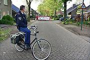 Nederland, Escharen, 9-4-2014 De anti dierproeven coalitie, ADC, hield een demonstratie tegen een hondenfokker. Deze fokt en verkoopt zijn Beagles aan de dierproevensector. Foto: Flip Franssen/Hollandse Hoogte