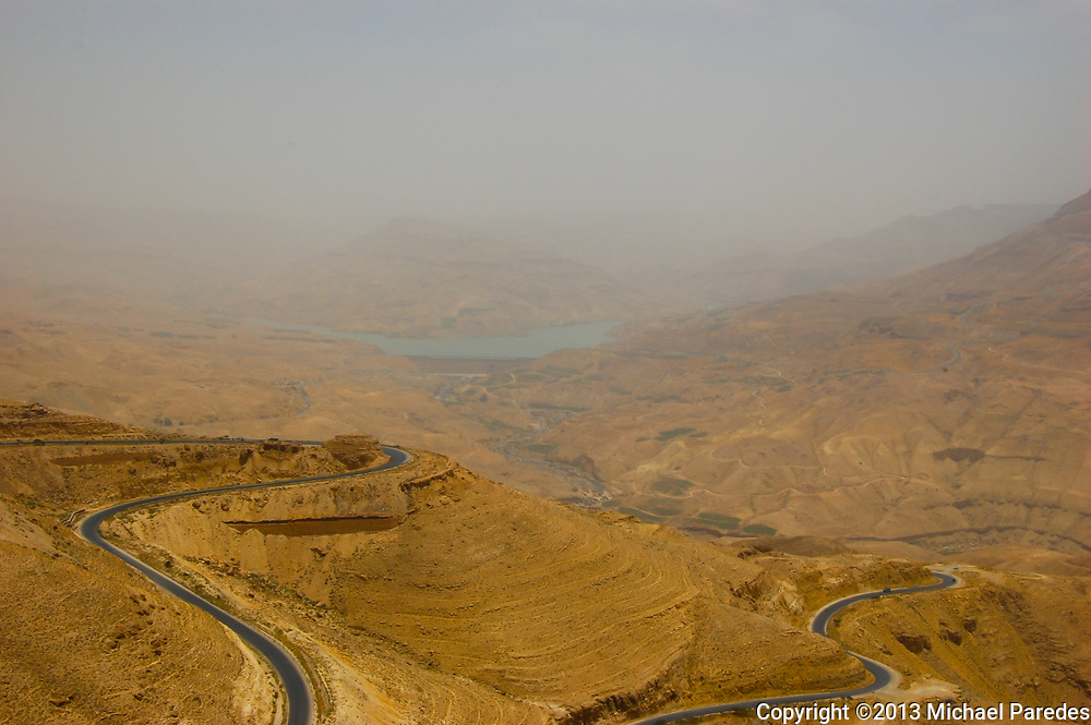 The King's Highway near Karak, Jordan