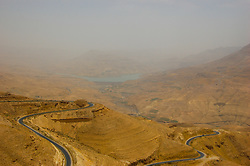 The King's Highway near Karak, Jordan