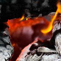 Campfire & coals