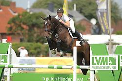 Ahsbahs, Deike, Chillma<br /> Fehmarn - Holsteiner Masters<br /> Springpferdeprüfung 4+5j. Pferde<br /> © www.sportfotos-lafrentz.de/ Stefan Lafrentz