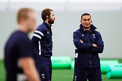Pat Lam (Director of Rugby) looks on as Bristol Bears start to use their new almost completed Training centre - Rogan/JMP - 08/07/2020 - RUGBY UNION - Beggar Bush Lane - Bristol, England.