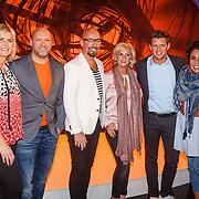 NLD/Aalsmeer/20160330 - Persdag Met de Deur in Huis, Ruben van der Meer, Maik de Boer, Tineke Schouten, Patty Brard, Kees Tol, Irene Moors