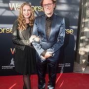 NLD/Amsterdam/20140614 - Inloop premiere Warhorse, Eric van Tijn en dochter