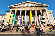 Bavarian State Opera house, Bayerische Staatsoper, in Max-Joseph-Platz in Munich, Bavaria, Germany