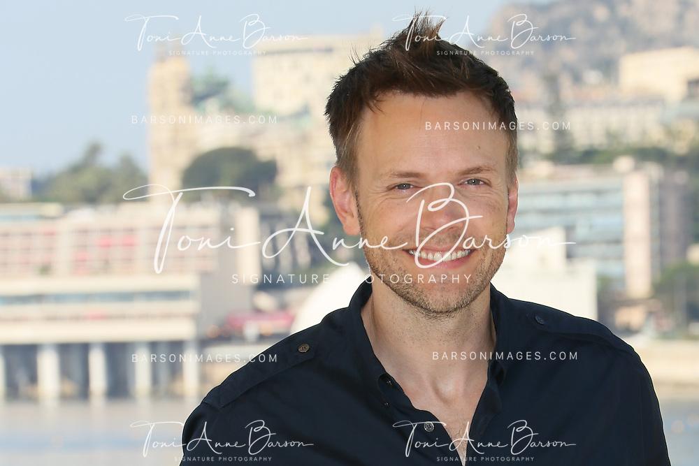 "MONTE-CARLO, MONACO - JUNE 09:  Joel McHale attends ""Community"" photocall at the Monte Carlo Beach Hotel on June 9, 2014 in Monte-Carlo, Monaco.  (Photo by Tony Barson/FilmMagic)"