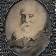 Portrait of Walt Whitman at seventy.<br />