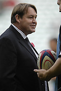 Twickenham. GREAT BRITAIN,  Steve HANSEN, All Blacks Assistant coach, during the, 2006 Investec Challenge, game between, England  and New Zealand [All Blacks], on Sun., 05/11/2006, played at the Twickenham Stadium, England. Photo, Peter Spurrier/Intersport-images].....   [Mandatory Credit, Peter Spurier/ Intersport Images].