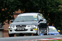 #12 Martin Webber MG ZR 160 during the The John Woods Motorcars MG Trophy Championship at Oulton Park, Little Budworth, Cheshire, United Kingdom. September 03 2016. World Copyright Peter Taylor/PSP.