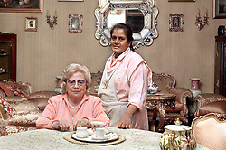 Italian lady with Sri-Lankan homeattendant