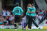 21 July 2017 - Surrey v Middlesex in the NatWest T20Blast cricket match at the Kia Oval.
