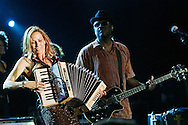 Sheryl Crow performs in concert at a private party in New Orleans.