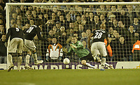 Photo: Aidan Ellis.<br /> Sheffield Wednesday v Manchester City. The FA Cup. 07/01/2007.<br /> City's Georgios Samaras scores from the penalty spot