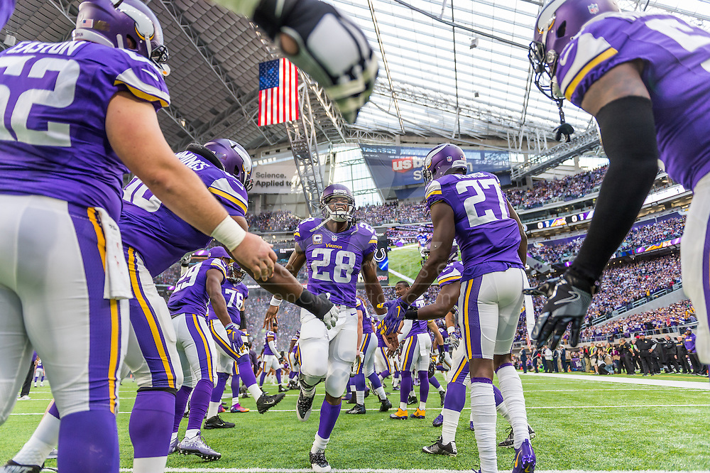 Minnesota Vikings vs. Indianapolis Colts on December 18, 2016 at U.S. Bank Stadium in Minneapolis, Minnesota.  Photo by Ben Krause/Minnesota Vikings