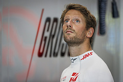 September 14, 2018 - Singapore, Singapore - Motorsports: FIA Formula One World Championship 2018, Grand Prix of Singapore, .#8 Romain Grosjean (FRA, Haas F1 Team) (Credit Image: © Hoch Zwei via ZUMA Wire)