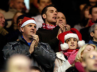 Photo: Jed Wee.<br />Middlesbrough v Charlton Athletic. The Barclays Premiership. 23/12/2006.<br /><br />Middlesbrough fans get in the Christmas spirit.