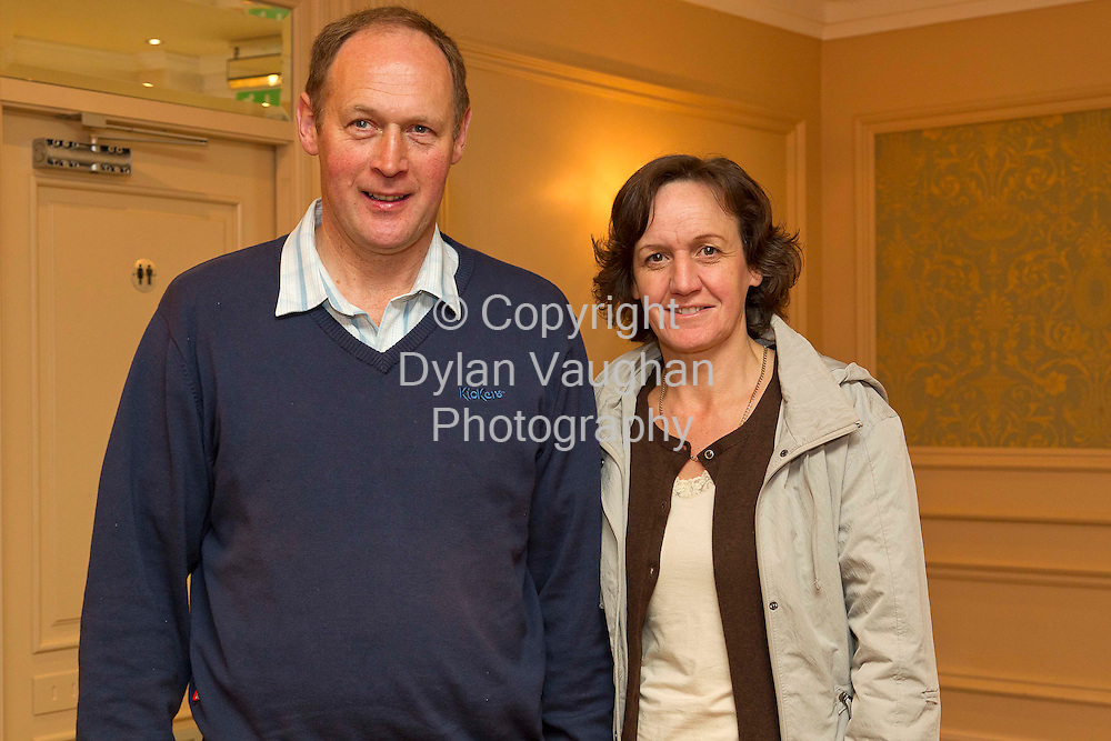 5/9/2011.John and  Liz Russell from Letterkenny Co Donegal pictured at the Dairy Ireland- Grasping the Opportunity  conference at the Newpark Hotel in Kilkenny..Picture Dylan Vaughan.