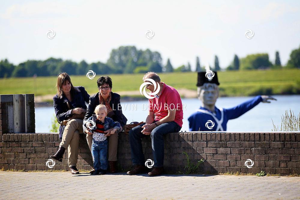 ZALTBOMMEL - Op 2 en 3 juni 2012 is het zover, de Slag om Bommel vind plaats in en om de historische binnenstad van Zaltbommel. FOTO LEVIN DEN BOER - PERSFOTO.NU