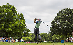 May 26, 2019 - Fort Worth, TX, USA - Jordan Spieth during the final round of the 2019 Charles Schwab Challenge PGA at Colonial Country Club. (Credit Image: © Erich Schlegel/ZUMA Wire)